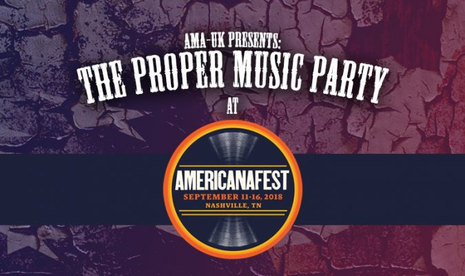 The Proper Music Party at AmericanaFest 2018