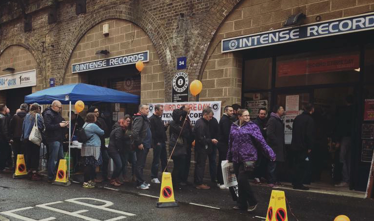 Intense Records - RSD 2017 queue